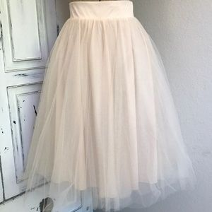 Tulle skirt size small